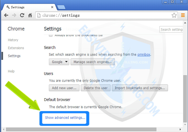 adsforeverybody Popup removal chrome