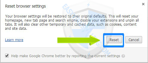 DrSpeedyPC removal on chrome