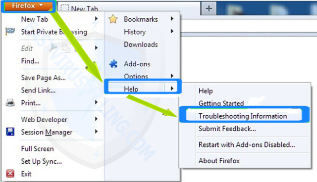 remove Baboom extension on firefox