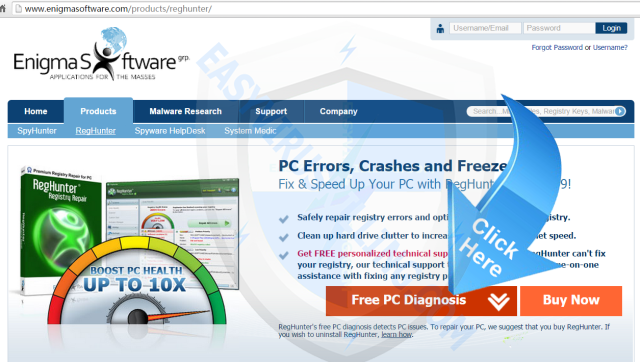 remove Debug malware error 895-system32.exe failure with reghunter