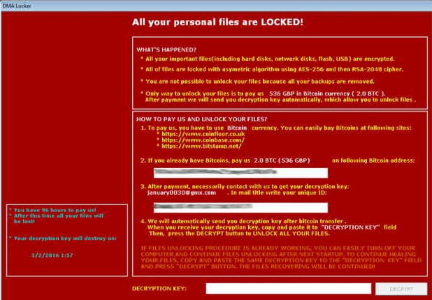 remove payfornature@india.com Ransomware